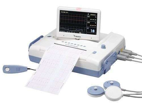 Fetal monitoring CTG machine with lcd display