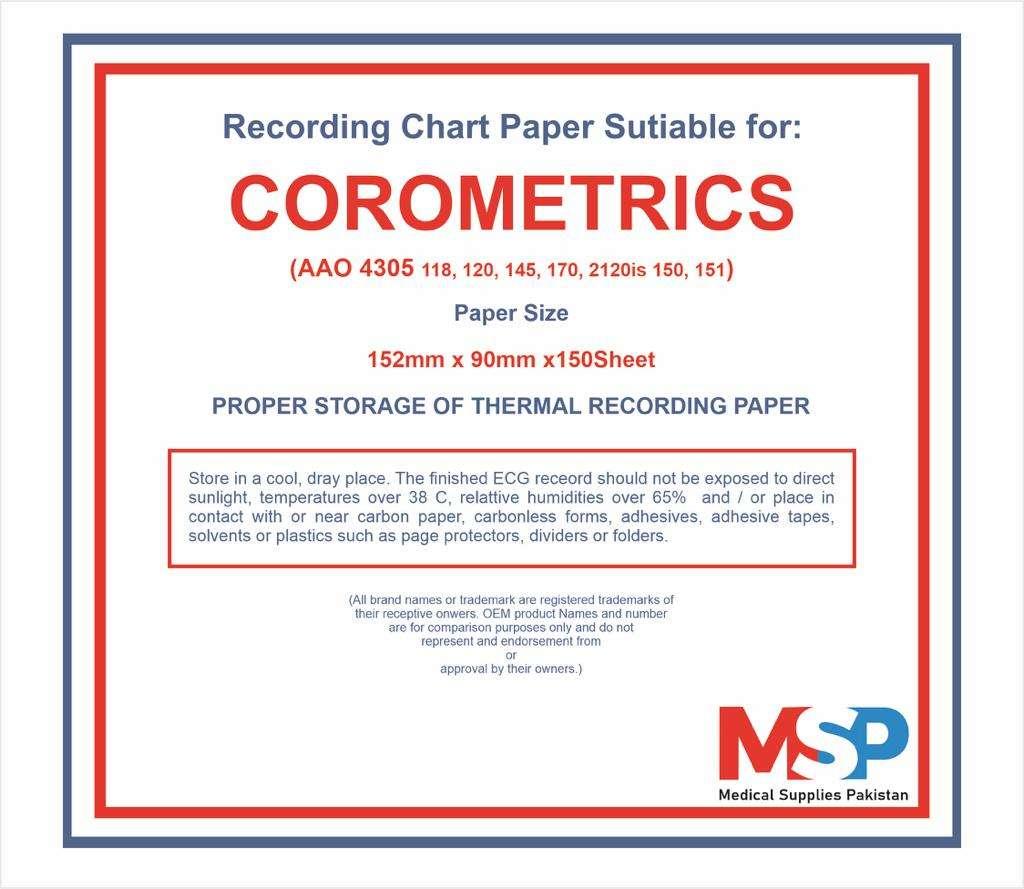 BUY CTG Machine Paper Z Fold Corometrics AAO 4305